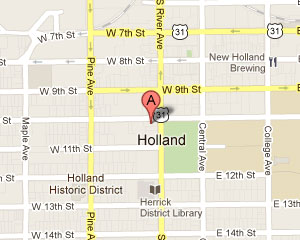Holland Office Map